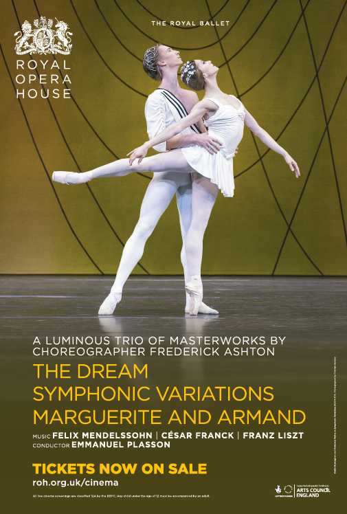 The Royal Ballet: The Dream/Symphonic Variations/Marguerite and Armand Poster